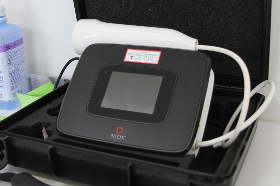呼気NO(一酸化窒素ガス)分析装置